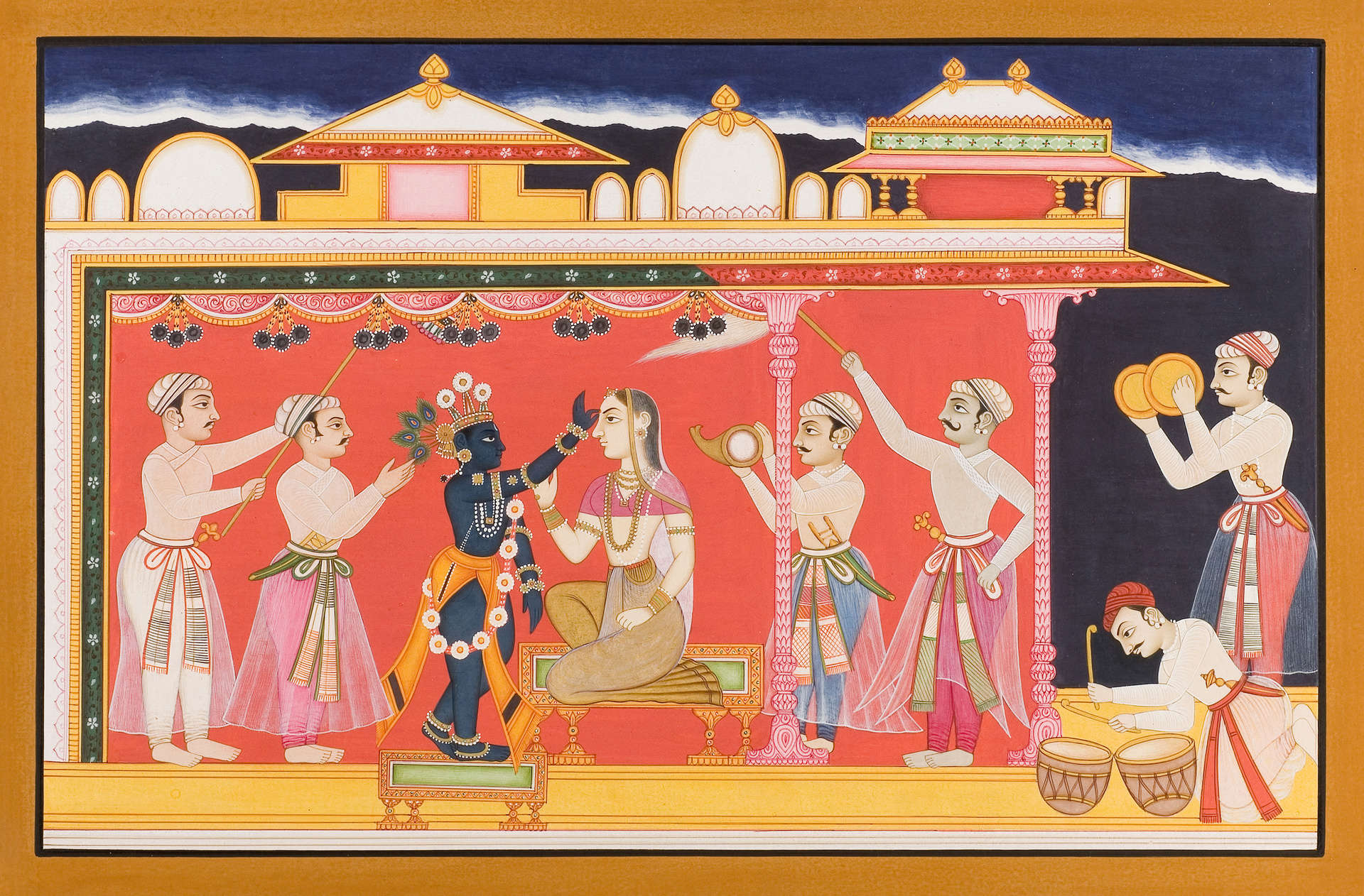 Miniature Painting from Rajasthan