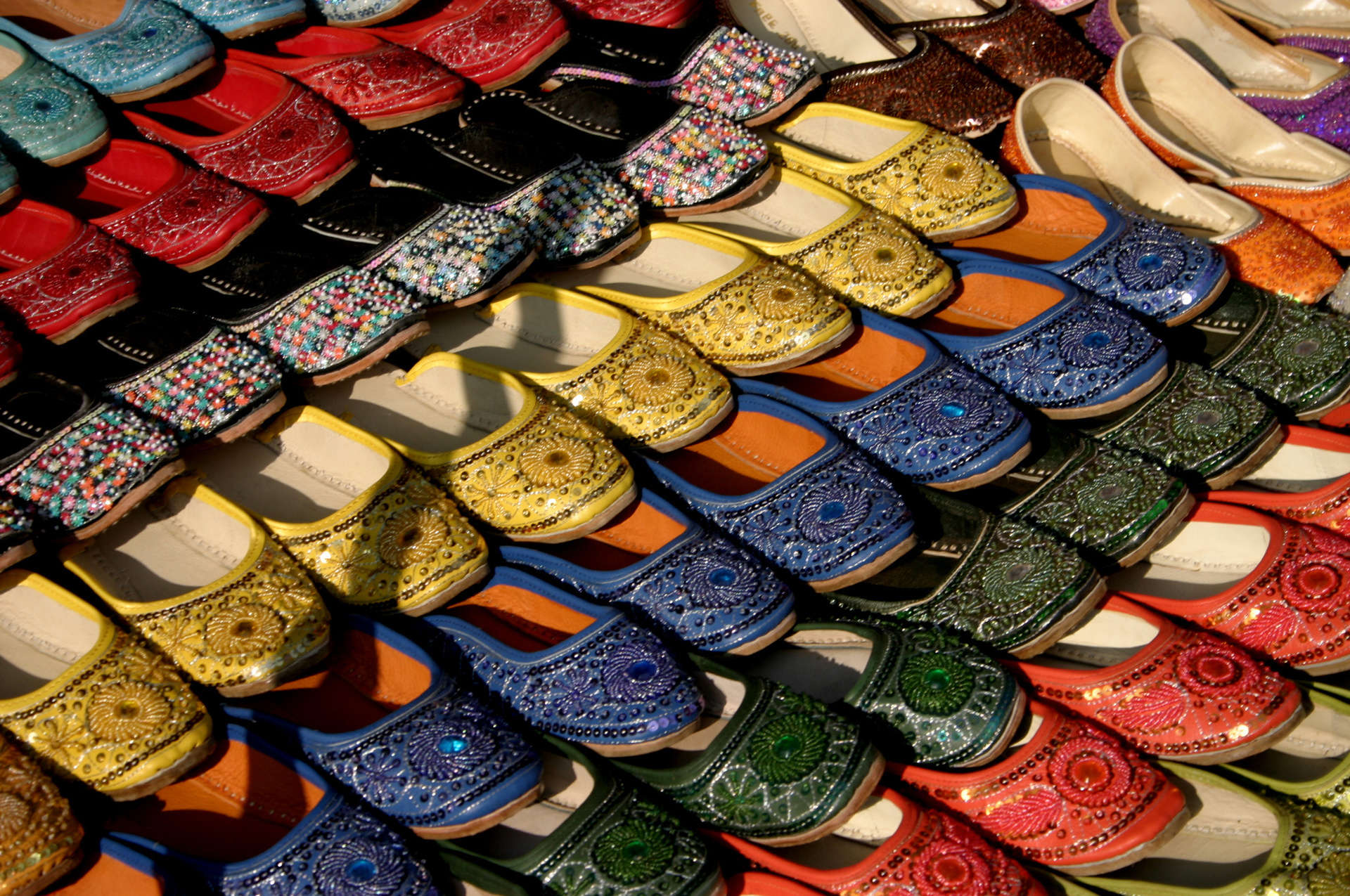 Mojari Footwear from Rajasthan