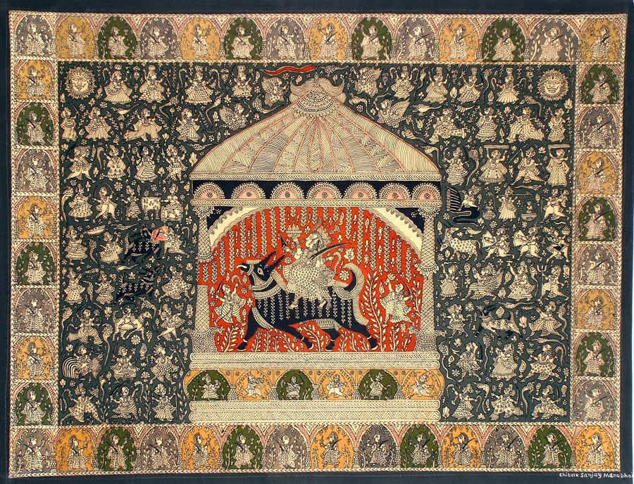 Mata ni pachedi: Ritual cloth painting