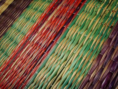 Kora mat weaving from Kerela