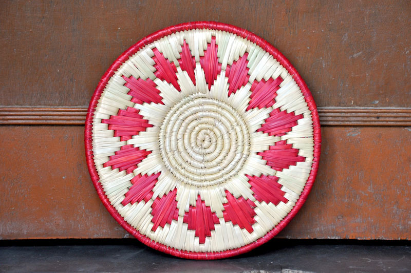Moonj Basketry form Uttar Pradesh