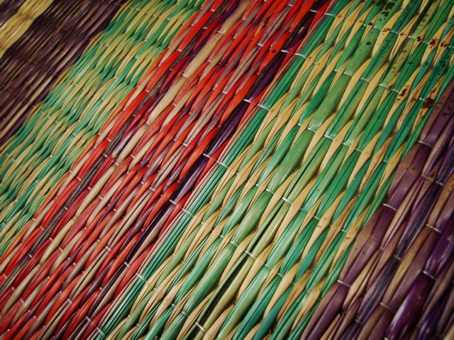 Kora mat weaving from Kerela