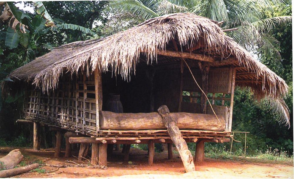 Garo Bamboo House from Meghalaya