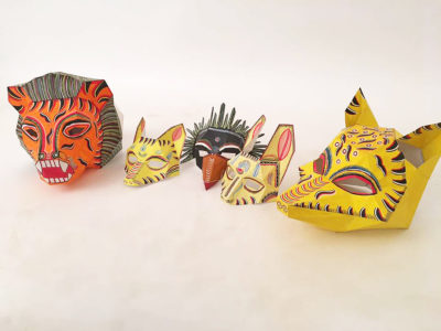 DC Collaboration: Handcrafted quirky Pattachitra masks