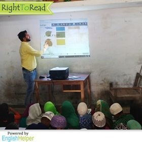 RightToRead - An Edtech Solution to Transform English Literacy in U.P. Schools