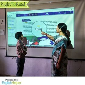 RightToRead - Enhancing English Literacy in Schools of Telangana
