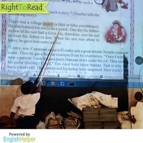 RightToRead - An Edtech Reading and Comprehension Solution for Students | Odisha