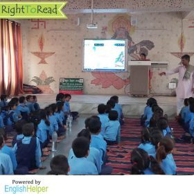 RightToRead - SDMC School- ReadToMe in Class