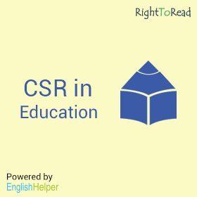CSR in Education RTR