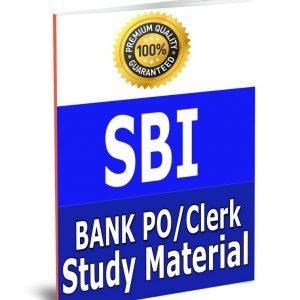 BANK SBI PO & Clerk Study Material