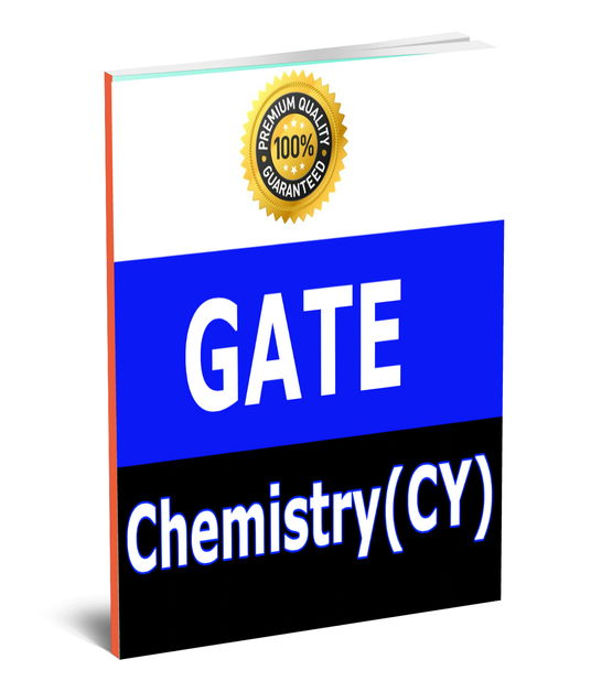 GATE Chemistry (CY) Toppers Study Material