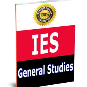 IES General StudieBook study material Notes