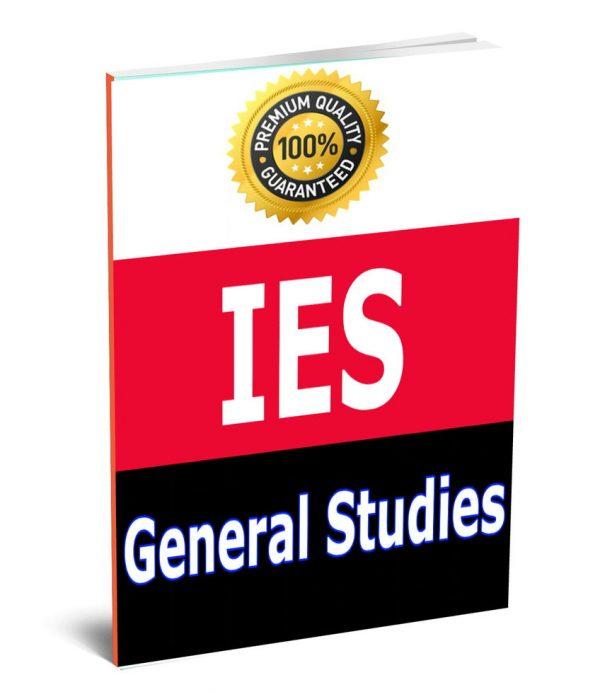 IES General StudieBook study material Notes