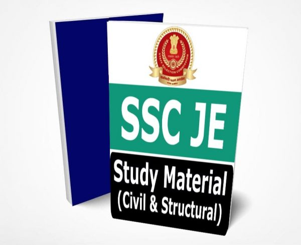 SSC JE Civil Study Material Lectures Notes