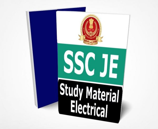 SSC JE Electrical Study Material Lectures Notes (Topic-wise)