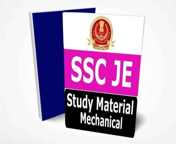 SSC JE Mechanical Study Material Lectures Notes (Topic-wise)