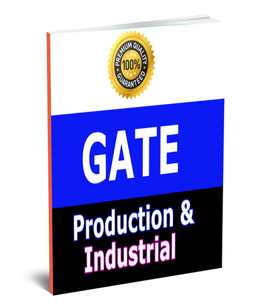 GATE Production & Industrial (PI) Toppers Study Material