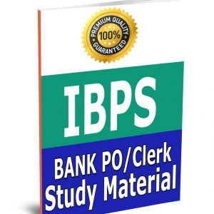 BANK IBPS PO & Clerk Toppers Complete Study Material