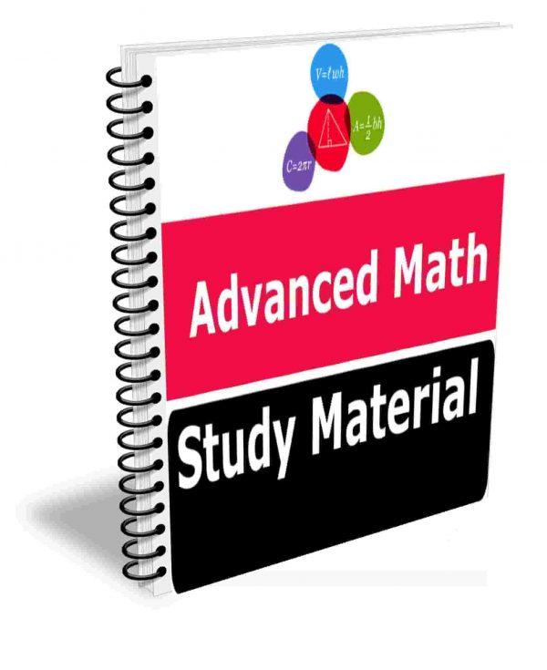 Advanced Math Study Material Book Best Class Notes Premium