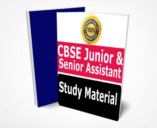CBSE Junior Assistant & Senior Assistant Study Material Notes