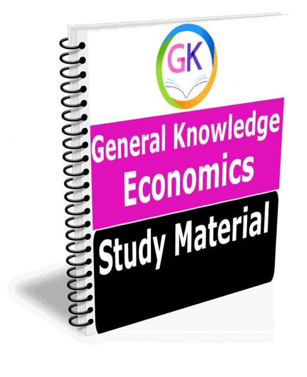 EconomicsStudy Material Book Best Class Notes Premium