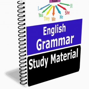 English Grammar Notes Study Material Book Best Notes