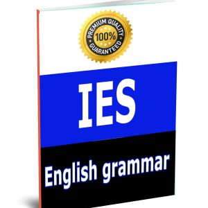 English grammar IES Aptitude Study Materials