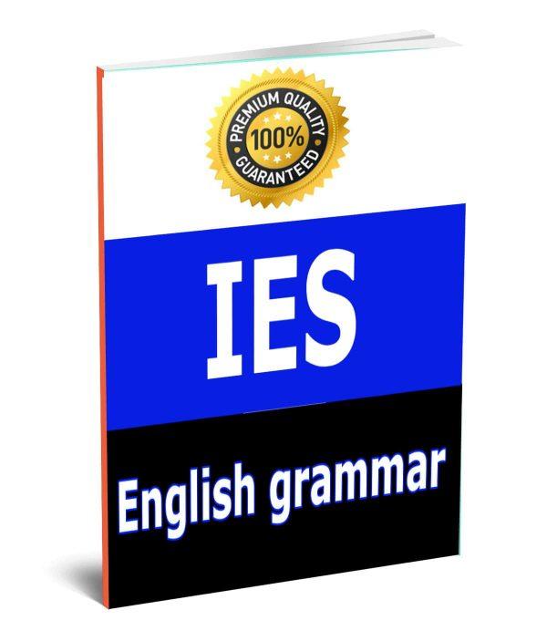 English grammar IES Aptitude Study Materials