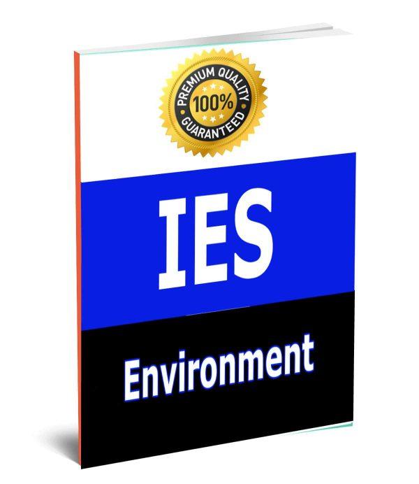EnvironmentIES ENGG Aptitude