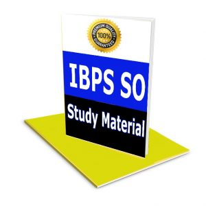 ibps so Study Material ,Notes,Books