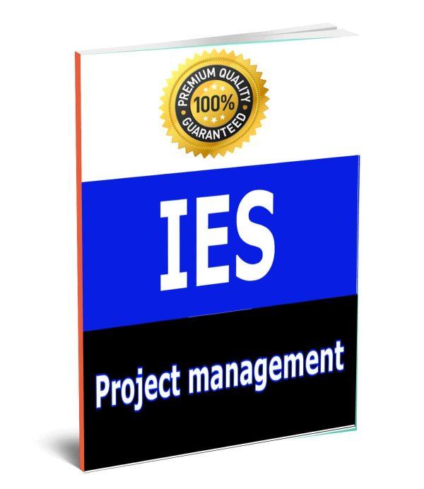 Project Management ies ese