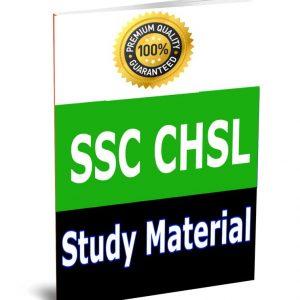SSC CHSL Study Material