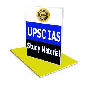 UPSC Prelim Study Material Book Notes