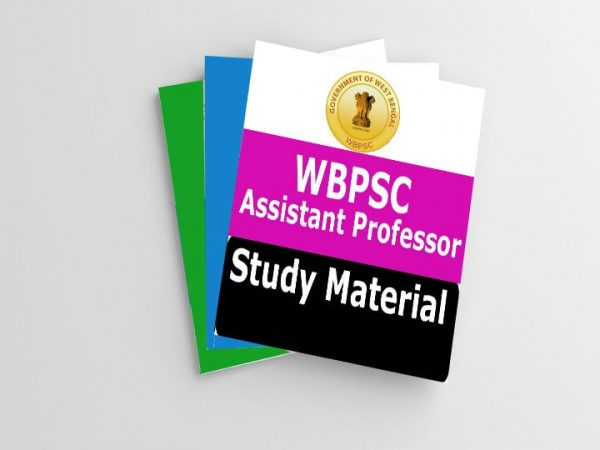WBPSC Assistant Professor Study Material