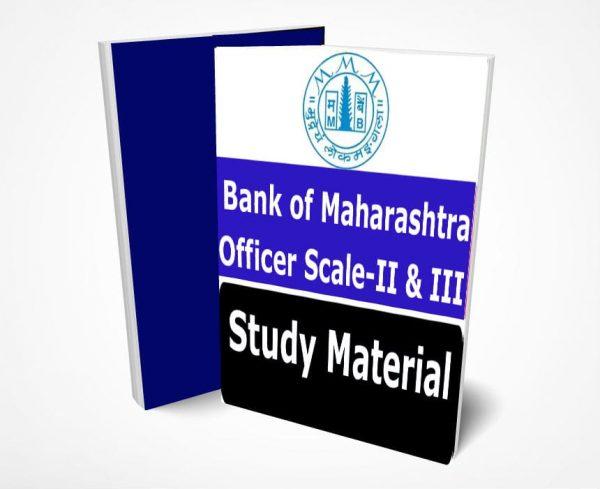 BOM Generalist Officer Study Material
