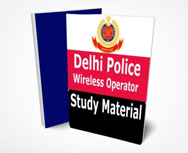Delhi Police Head Constable Study Material Book Notes Wireless Operator