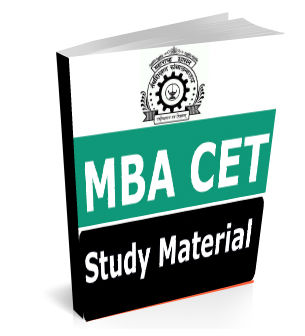 MBA CET Study Material Books Notes Pdf