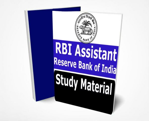 RBI Assistant Study Material Book Notes