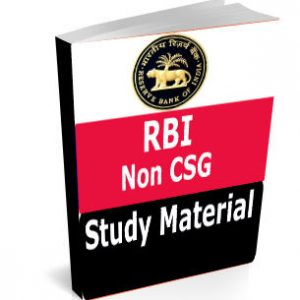 RBI Non CSG Study Material Text Book Notes