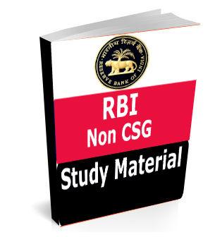 RBI Non CSG Study Material Text Book Notes