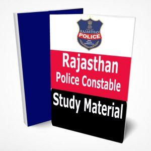 Rajasthan Police Constable Study Material Book Notes GK Hindi & English