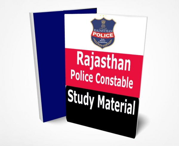Rajasthan Police Constable Study Material Book Notes GK Hindi & English