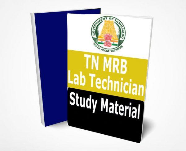 TN MRB Study Material Tamil Nadu Lab Technician Grade III PDF