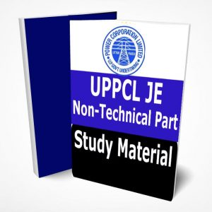 UPPCL JE Study Material Book Notes Non-Technical Part Civil,Electrical