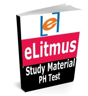 eLitmus Study Material Book Notes pH test