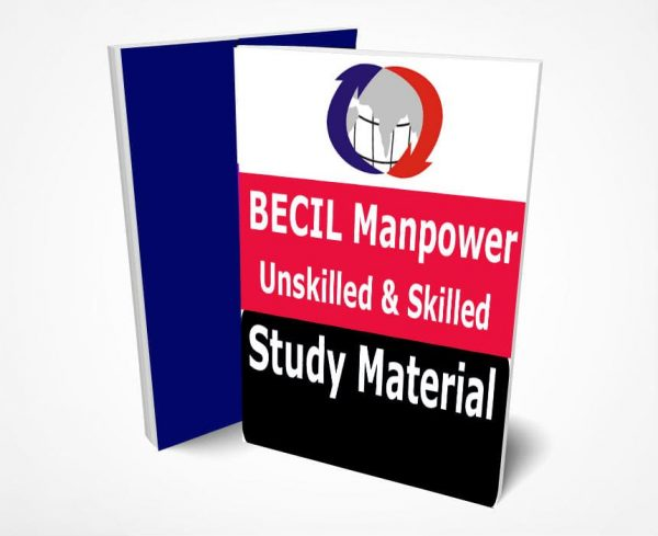 BECIL Unskilled & Skilled Manpower Study Material Notes -Buy Online Full Syllabus Text Book