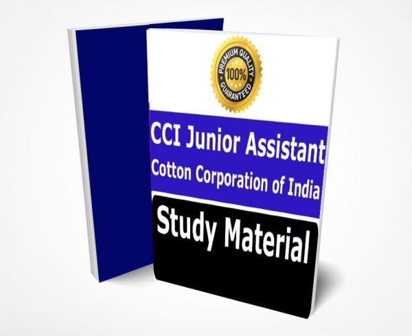 CCI Junior Assistant Study Material Notes -Buy Online Full Syllabus Text BookCotton Corporation