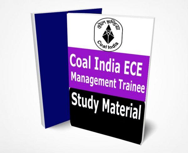 Coal India ECE Management Trainee Study Material