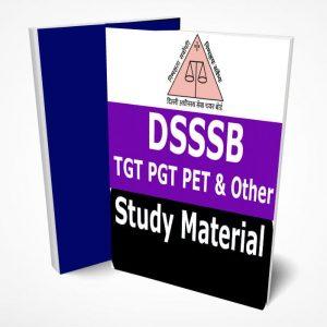 DSSSB TGT, PGT PET Study Material Notes