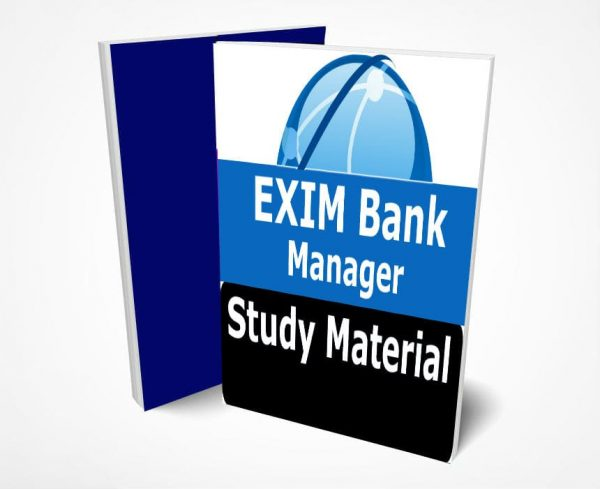 EXIM Bank Manager & Deputy Manager Study Material Notes Fully Updated Syllabus Text Books